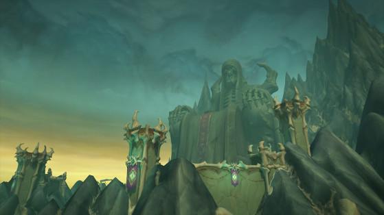 WoW : Maldraxxus, Zone Shadowlands