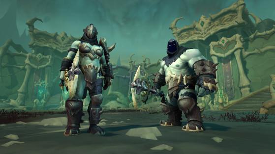 Les soldats nécrotiques de Maldraxxus ont été forgés par une éternité de guerre… - World of Warcraft
