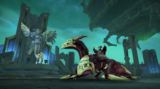 WoW Shadowlands : Sillage nécrotique, Guide Donjon