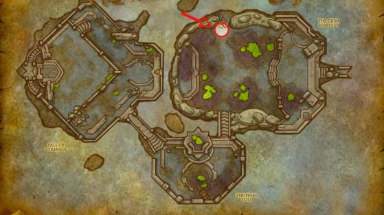 Localisation du 1er Goliath - World of Warcraft