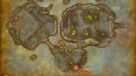 Localisation du 2è Goliath - World of Warcraft