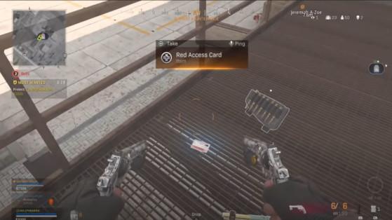 Call of Duty Warzone : comment obtenir la carte d'accès rouge des bunkers ?