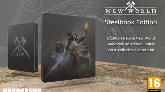 New World : précommande du pack collector avec Steelbook