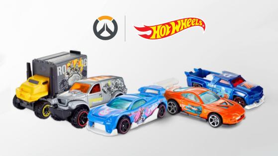 Overwatch : Hot Wheels dévoile sa collection Overwatch