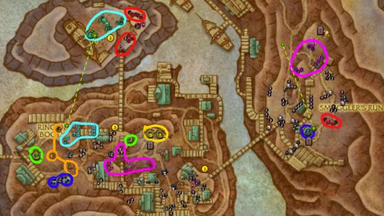 La route pour cette clé expliquée en détails - World of Warcraft
