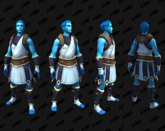 Apparence physique de Pelagos en Ombreterre - World of Warcraft
