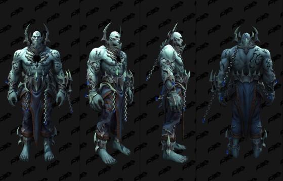Le modèle du Geôlier dans Shadowlands - World of Warcraft