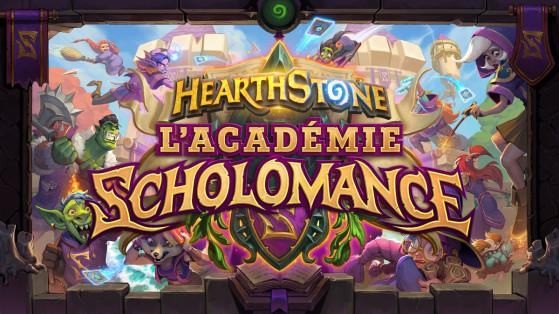 Hearthstone extension l'Académie de Scholomance : date de sortie 6 août
