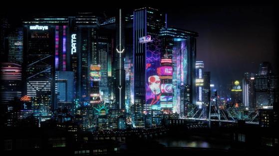 Cyberpunk 2077 : Carte complète de Night City, map, locations, district, areas