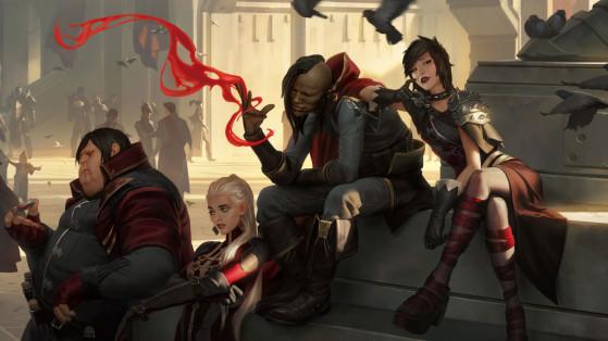 Un petit groupe pas très sympathique... - League of Legends