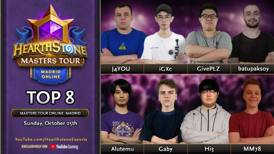 Hearthstone : Masters Tour Online Madrid