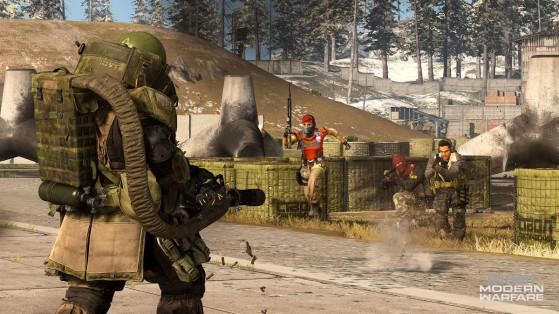 Warzone : courte mise à jour de la playlist sur PC, PS4 et Xbox One
