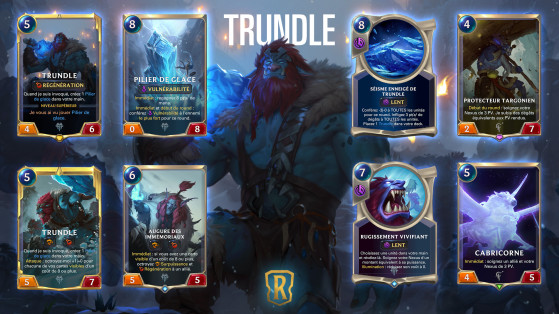 Legends of Runeterra - LoR : Targon, extension, nouveau champion Trundle