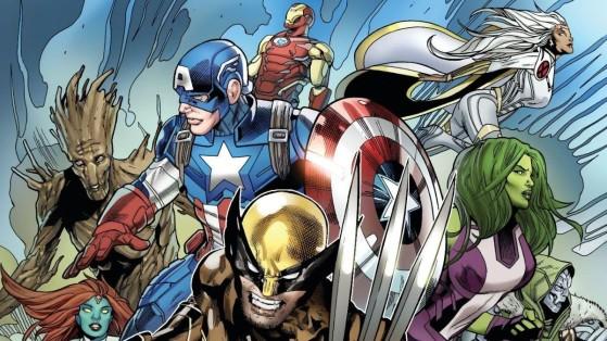 Fortnite saison 4 : teaser partie 5, les super-héros Marvel