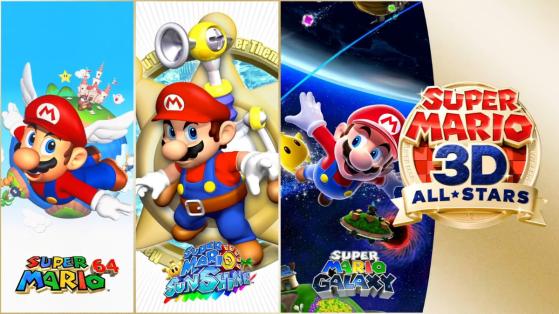 Super Mario 3D All Stars : date de sortie, compilation Sunshine, Galaxy et 64 sur Nintendo Switch