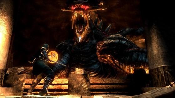 Le Dieu Dragon, un boss particulièrement décevant dans le jeu d'origine. Encore une chose qu'on aimerait voir améliorée. - Demon's Souls