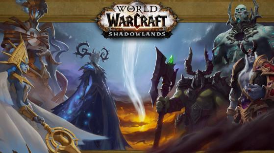 L'écran de chargement de l'Ombreterre - World of Warcraft
