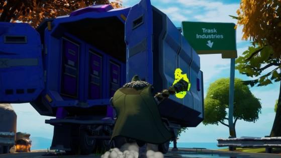 Fortnite : trouver un camion de Transport Trask, défi Wolverine