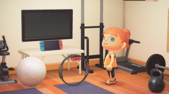 Animal Crossing New Horizons : Recevez le Ring Fit Con gratuitement dans le jeu