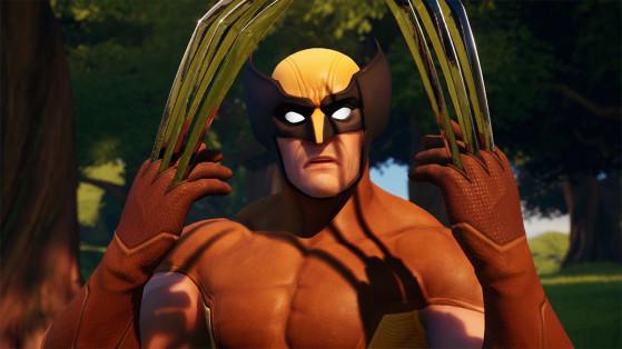 Fortnite : Infliger des dégâts avec les griffes de Wolverine, défi