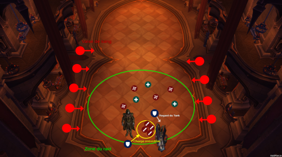 Placement du boss et du raid en Phase 2 - World of Warcraft