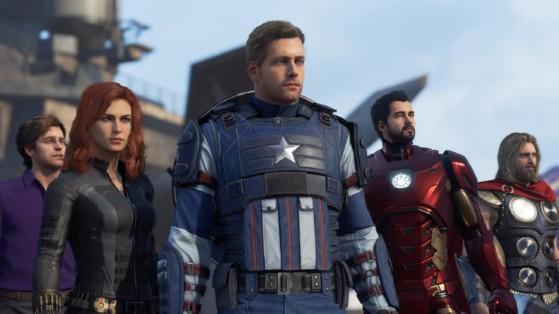 Marvel's Avengers : Moins de 1000 joueurs simultanés sur PC