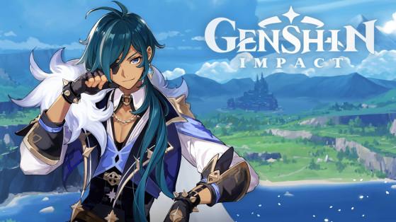 Genshin Impact : build Kaeya  armes et sets d'artefacts