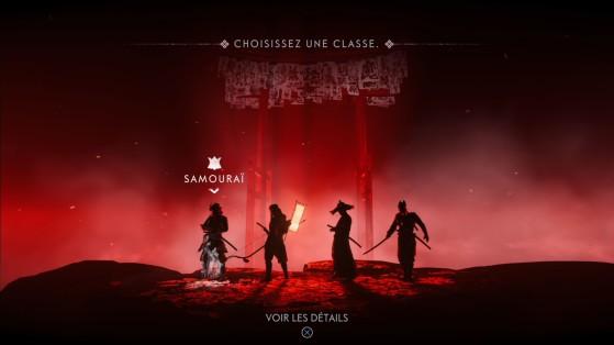 Ghost of Tsushima Legends : Choix de classe