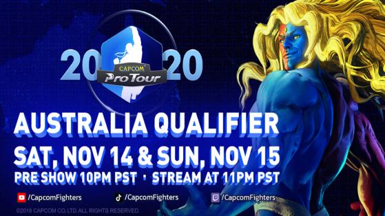 Street Fighter V Capcom Pro Tour Online Australie : le suivi complet
