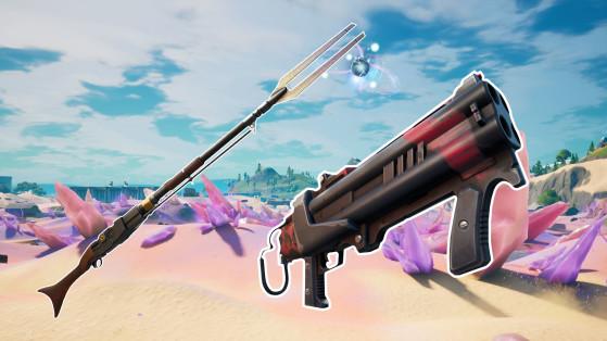 Fortnite chapitre 2 saison 5 : nouvelles armes, armes retirées