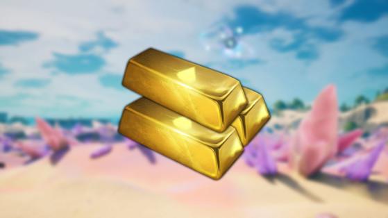 Fortnite : lingots d'or, chapitre 2 saison 5