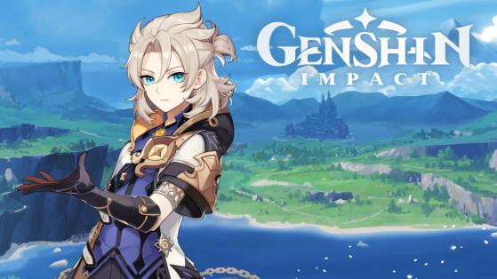 Genshin Impact : build Albedo, armes et sets d'artefacts