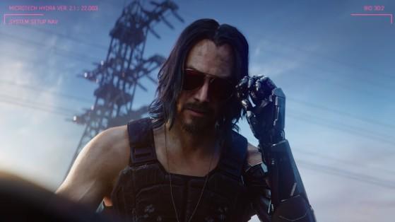 Réveil difficile avec Keanu. - Cyberpunk 2077