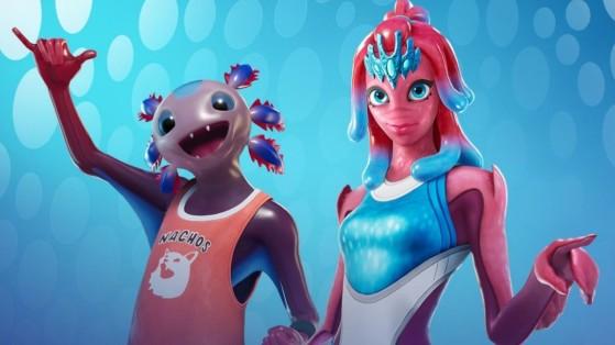 Fortnite : les skins Axo et Coralline dans la boutique du 19 janvier 2021