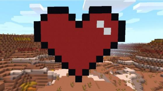 Minecraft : Les meilleures créations pour la Saint Valentin
