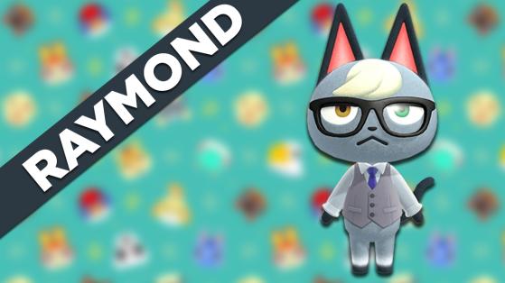 Raymond sur Animal Crossing New Horizons : tout savoir sur cet habitant