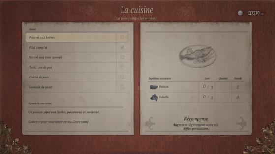 Cuisine Resident Evil Village : Où trouver les ingrédients, comment cela fonctionne