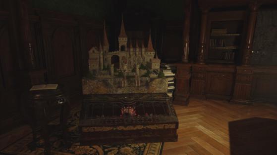Labyrinthe de Dimitrescu Resident Evil Village : comment le terminer, position de la boule