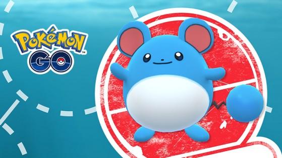 Marill en vedette durant l'étude ciblée de mai sur Pokémon GO