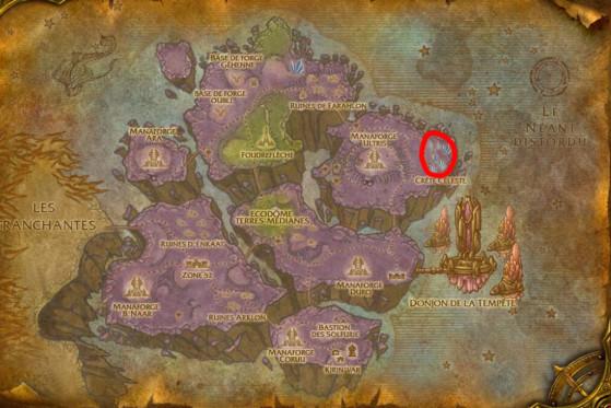 Localisation principale de Drakes du Néant - Burning Crusade : Classic