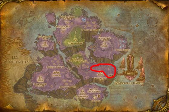 Localisation principale de Poursuivants dimensionnels - Burning Crusade : Classic