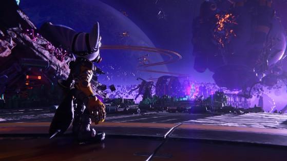 La planète Blizar I ... - Ratchet & Clank: Rift Apart