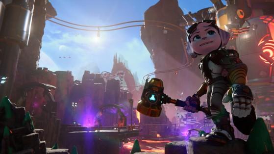 ... possède deux faces bien différentes - Ratchet & Clank: Rift Apart