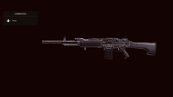 Quelle est la meilleure classe pour la Stoner 63 sur Warzone ?