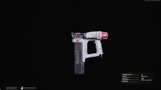 Comment débloquer le pistolet à clou sur Warzone et Black Ops Cold War ?