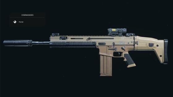Quelle est la meilleure classe pour la FN Scar 17 sur Warzone ?