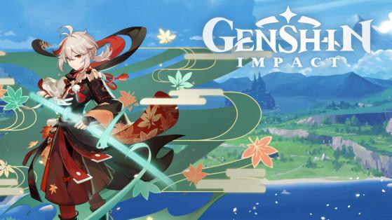 Genshin Impact : build Kazuha armes et sets d'artefacts