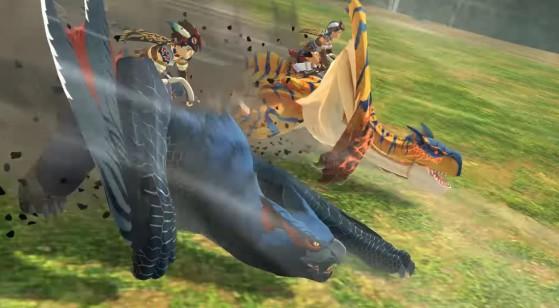 Compétences de terrain dans Monster Hunter Stories 2, actions en selle