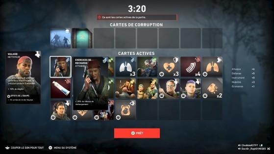 Back 4 Blood : Récapitulatif du deck - Back 4 Blood
