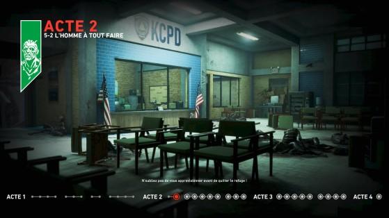 4 actes sont disponibles dans Back 4 Blood - Back 4 Blood